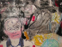 The Nebulous Banquet (giveawayboy) Tags: portrait art pen painting tampa sketch wire paint artist acrylic drawing neworleans scifi novel sciencefiction crayon bobbin novelist spool lafferty fch giveawayboy theclinic hereitis billrogers ralafferty raphaelaloysiuslafferty arriveateasterwine nebulousbanquet giveittotheworld epiktextension