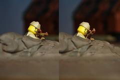 lucky shot LEGO ww2 (mrripleyx) Tags: lego ww2