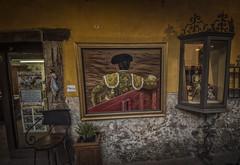 El Toreador (olemoberg) Tags: shop painting mexico sanmigueldeallende toreador
