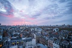 Good morning London (christian.dandyk.de | digitlife.net) Tags: color london skyline zeiss sony londoneye theshard elisabethtower a7rm2 ilce7rm2 zeissbatis2818 batis2818