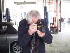 Henny Koorn the clubs photographer taking snaps (Nicholas1963) Tags: club utrecht nederland rob rootes arijansen