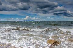 Sunny But Cold!! (BGDL) Tags: seascape beach landscape arran prestwick firthofclyde nikond7000 afsnikkor18105mm13556g bgdl lightroomcc