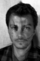 Self portrait (paralelsuns85) Tags: blackandwhite bw selfportrait man male self hand doubleexposure canonef2470mmf28lusm selfie canon6d