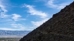 P.S.-16-447 (schmikeymikey1) Tags: plants mountain silhouette rock clouds landscape bush path style