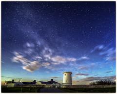 Nash point lighthouse IMG_1262 (expresspirate) Tags: sea night stars lighthouses vale valeofglamorgan milkyway nashpoint