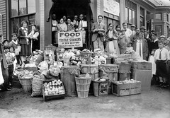 Food delivered to New Bedford strikers: 1928 (washington_area_spark) Tags: new party john bedford march dc washington war labor union rally protest young ct communist textile strike nicaragua 1928 porter comrade picket augusto sandino