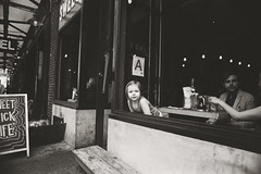 AA005a (heavyasmountains) Tags: nyc newyorkcity blackandwhite slr film 35mm photography nikon candid streetphotography noflash 24mm fm3a filmphotography streetstyle
