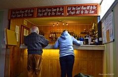 Cant please everyone (Zak355) Tags: people umbrella scotland town pub band jazz scottish parade jazzfestival bute rothesay 2016 isleofbute