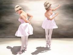 Degas' Ballerina (kirstentacular) Tags: poses genre maitreya slink catwa argrace thesecretstore wowskins nantra