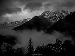 Le Tour dans la Tourmente n1 (Frdric Fossard) Tags: nature alpes contraste neige brume letour ambiance tempte hautesavoie massifdumontblanc valledechamonix montagneenneige