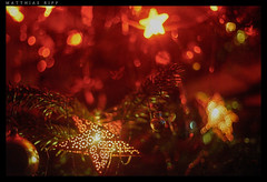 The last memory of christmas (mripp) Tags: christmas detail macro art weihnachten stars 50mm star bokeh f14 kunst decoration dream super dreaming fullframe sterne alpha7 trumen supertacumar