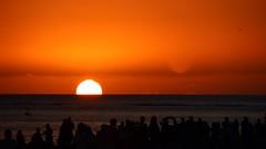 Sunset view at Dukes Waikiki (giuseppe schipano) Tags: waikikisunset dukeswaikiki sigma18250 canon600d waikikioutriggerbeachresort