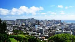 Merry Christmas and Happy New Year from Hawaii! (Internet-Okinawa.com) Tags: christmas hawaii waikiki diamondhead newyears honolulu seasonsgreetings punchbowl
