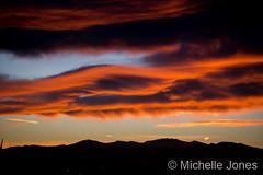 January 13, 2016 - A gorgeous Thornton sunset. (Michelle Jones)