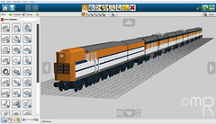The Lego Chessie (MrRailfan190) Tags: blw lego steam co works locomotive baldwin turbine chessie streamliner moc ldd