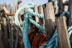 Beach Fence Friday (Peter Jaspers (busy at the moment)) Tags: light beach colors fence seaside dof olympus rope panasonic shack fenced omd beachcomber kijkduin hff em10 omejan jutterskeet 20mm17 happyfencefriday frompeterj