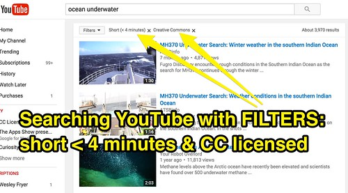 Search YouTube with Filters for Short Cr by Wesley Fryer, on Flickr