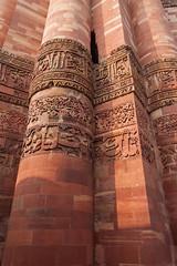 Qutub Minar - details (_NicoDem_) Tags: india canon mark delhi ii 5d complex qutub minar 2015 5dmarkii 5dmkii