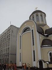 Храм великомученицы Варвары (при Киевской областной больнице № 1)