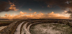 Snow at the fort. (Mr Bultitude) Tags: morning ireland snow january derry donegal grianan ailigh aileach innishowen grianán