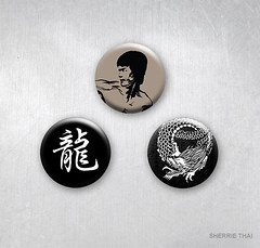 Asian Martial Art Buttons, Shaireproductions Etsy Art Products (shaire productions) Tags: original art shop retail illustration shopping asian design photo artwork dragon graphic image handmade originalart buttons character chinese decoration picture style martialarts karate creation homemade photograph kanji kungfu merchandise products projects etsy oriental custom decor brucelee stylish pinback originaldesign shaireproductions