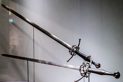 Schwert / Sword, Passau, c. 1545 (Anita Pravits) Tags: vienna wien exhibition sword khm ausstellung kunsthistorischesmuseum schwert