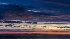 Blue hour on Isle of Skye ( fabienne faur) Tags: uk shadow sea sky cloud mer canon landscape scotland highlands long exposure unitedkingdom ombre relief highland ciel gb nuage paysage sco heure bleue gairloch ecosse 2470mm longueexposition royaumeuni poselongue eos7d