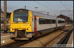 NMBS / SNCB 4157 Libramont 11072011 (W. Daelmans) Tags: diesel alstom nmbs sncb 4157 ar41 mw41