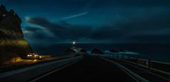 Ortegal Cape (Emilio Rodríguez Álvarez) Tags: sea lighthouse azul 30 night canon stars landscape faro eos noche mar spain cabo coruña 110 paisaje galicia hora panoramica 7d estrellas nocturna mm capture larga exposición ƒ28 ortegal