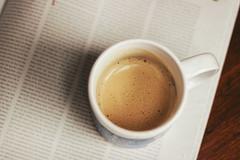 sunday morning (Christopher Marko) Tags: morning coffee canon 50mm newspaper sunday kaffee wakeup