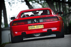 Ferrari 348 GT Competizione (Type F119) | CCCHK Annual Luncheon at HKJC Beas River Country Club | Hong Kong (Ben Molloy Automotive Photography) Tags: classic car club river country rear ferrari hong kong type annual gt rare luncheon beas | 348 hkjc competizione f119 ccchk classiccarclubofhongkong