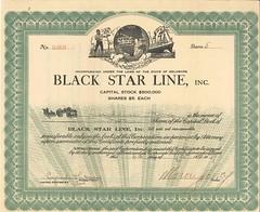 Black Star Line Stock Certificate, 1919 (FinanceMuseum) Tags: steamship blackhistory unia marcusgarvey blackstarline universalnegroimprovementassociation backtoafricamovement