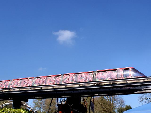 Monorail - Strawberry Train