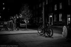 People and Bike (louhamilton23) Tags: street people urban bw flickr fuji candid streetphotography maryland fujifilm fujinon frederick facebook lightroom 2016 xseries bwstreet 23mm xt10 frednet xfseries xf23mmf14 fujinonxf23mmf14