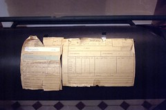 Laufzettel / route card (n0core) Tags: film analog 35mm canon lomography kodak f1 ddr expired filmmuseum industrie gdr qrs wolfen historisch orwo veb ostblock laufzettel industrieruine orwochrom np20 orwopan np15 ut21 routecard filmfilmforever qrs100
