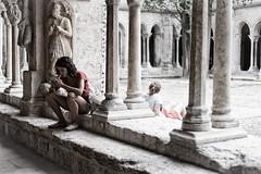 back to back (Federica La Pietra) Tags: girl back donne schiena provenza contro