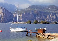 Lake Garda 9th Oct 102 (saxonfenken) Tags: italy lake mountains boat dock jetty 102 waterside lakegarda perpetual gamewinner challengeyou pregamewinner verona9thoct 102italy