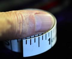 Rule of Thumb - Macro Monday - Rule (Joan's Pics 2012) Tags: explore thumb tapemeasure measuringinstruments ruleofthumb macromonday 116picturesin2016