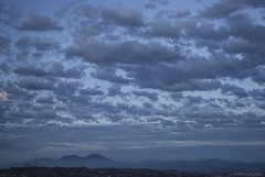 Blue morning, blue day..... (Joe Hengel) Tags: california ca mountain clouds sunrise landscape cloudy outdoor horizon bluesky socal peaks southerncalifornia orangecounty oc range theoc sanjuancapistrano saddlebackmountain cloudsbluesky cloudsstormssunsetssunrises cloudsorangecounty