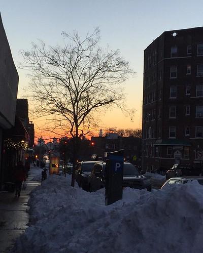 #winter #snow #2016 #sunset #photooftheday