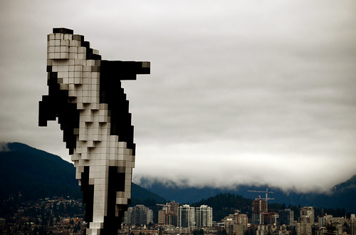Digital Orca (nic_r) Tags: sculpture art vancouver digital orca douglascoupland digitalorca