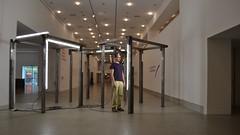 Fluorescent selfportrait (TheManWhoPlantedTrees) Tags: sculpture architecture lisboa lisbon arts ccb berardo pedrocabritareis arquitecturaportuguesa nikond3100 tmwpt
