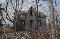 Rotten To The Core (CrazyCarClub) Tags: wood urban house abandoned home rotting forgotten urbanexploration rotten exploration hdr highdynamicrange ue urbex rurex abandonedontario crazycarclub