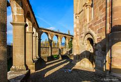 DSC0222 Santa Mara de Eunate, siglo XII, Navarra (ramonmunoz_arte) Tags: santa de arte xii mara navarra templarios siglo romnico eunate