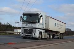 Renault Magnum 'Weald Granary' reg YX13 AZO (erfmike51) Tags: lorry artic renaultmagnum bulktipper wealdgranary
