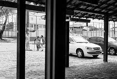 Waiting (Trcio Campelo) Tags: street blackandwhite bw film analog 35mm streetphotography pb ilfordhp5 35mmfilm ilford filmphotography streetphotographer filmisnotdead yashicaelectro35gt buyfilmnotmegapixels