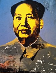 Mao, 1972 (azkaged) Tags: portrait newyork art museum modern painting popart andywarhol mao warhol met metropolitan metropolitanmuseumofart