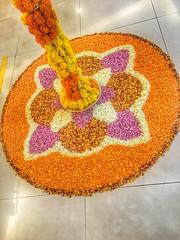 (atulkosambi) Tags: colors colorful welcome rangoli flowerrangoli indianculture