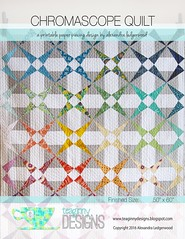 Chromascope Quilt (teaginny) Tags: modern quilt kaleidoscope chromascope chromascopequilt