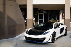 RevoZport (Noah L. Photography) Tags: blue white black car walnut mclaren modified british carbon supercar sportscar tuned 12c mp412c revozport